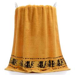 2018新款竹子套巾 米黄/毛巾 34*74