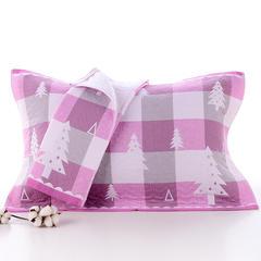 2018新款加棉枕巾 粉色 52x78cm/条