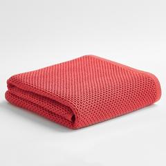2018新款侘寂浴巾 68*140cm 红鸢色