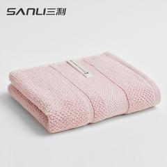 2018新款抗菌面巾 34*76cm 浅桃色