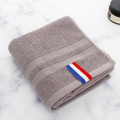 2018新款英伦格礼品套巾 灰色/毛巾 34*76±2cm