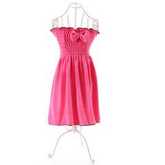 2018新款裹胸浴裙 70*140cm 红色