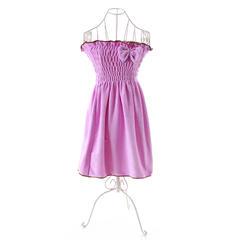 2018新款裹胸浴裙 70*140cm 紫色