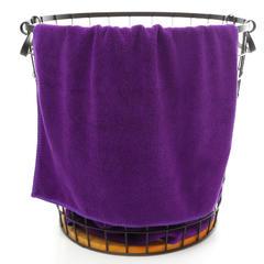 2018新款兰紫咖啡毛巾 35*75cm 紫色