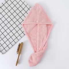 2019新款素色菠萝格长条帽 25*65 粉色
