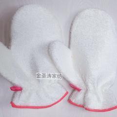 纯竹纤维手套厨房用品抹布 白色