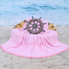 2018新款-雨伞毛巾被(150*200cm) 粉