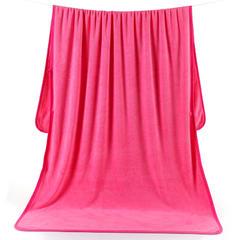 2018新款涤纶加大浴巾美容床专用 90cm*180cm 玫红色> />           </a>         </div>                 <div class=