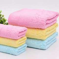 2019新款熊猫毛巾 34*74cm 黄色