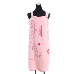 2018新款百变浴裙 80*135cm 粉色