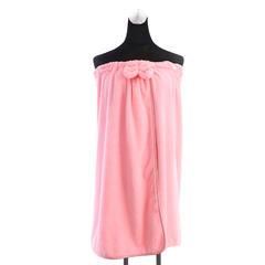 2018新款超细纤维抹胸裙 80×140cm 粉色