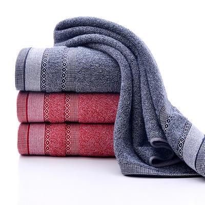 2018新款多菱毛巾-34*74cm 灰
