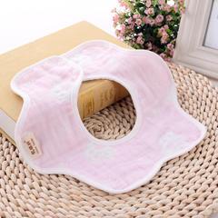 2018新款40单纱方巾 粉色爪子 30*30cm