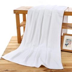 2018新款-32股白浴巾 白色70*140(400g)