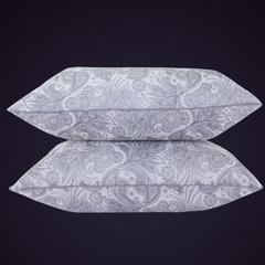 2018新款-舒适柔软羽丝绒枕枕头枕芯(40*70) 青花瓷高枕 40*70