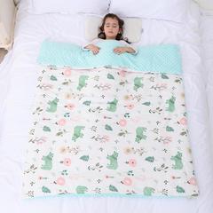 2018新款婴幼儿棉纱柔肤豆豆儿童被/儿童毯 150x200cm 150x200cm 单独毯子 花儿熊
