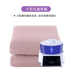 2018新款智能恒温水暖毯 电热毯 手动款-卡其色/1.8x2.0m