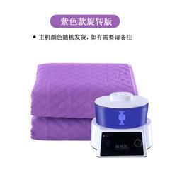 2018新款智能恒温水暖毯 电热毯 手动款-紫色/1.8x0.8m