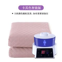 2018新款智能恒温水暖毯 电热毯 智能款-卡其色/1.8x0.8m