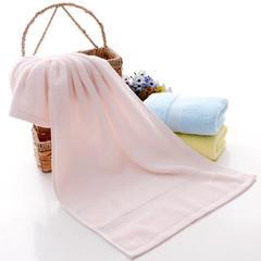 2019新款素色断档套巾 粉色(毛巾34*72cm)