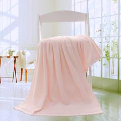 2019新款素色断档套巾 粉色(浴巾70*140cm)