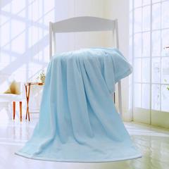 2019新款素色断档套巾 蓝色(浴巾70*140cm)