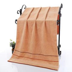 2019新款三段浴巾(70*140cm) 黄色
