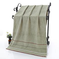 2019新款三段浴巾(70*140cm) 绿色