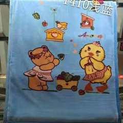 2018新款-童毯 1.1*1.4米 1410浅蓝
