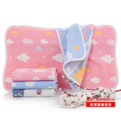 纯棉枕巾6六层纱布儿童成人枕头巾全棉透气厂家批发直销一件代发