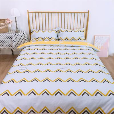 2020新款-双面用40S全棉四件套 床单款1.5m(5英尺)床 哈鹿b反