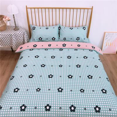 2020新款-双面用40S全棉四件套 床单款1.5m(5英尺)床 七色花b反