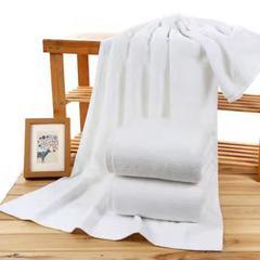 2019新品-宾馆酒店高端21股纯棉白浴巾 70*140±5 白色