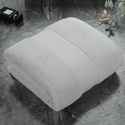 2018新款6色浴巾 浅灰70X140cm