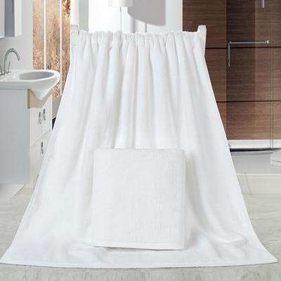 2018新款21股浴巾 白色70*140cm/400克
