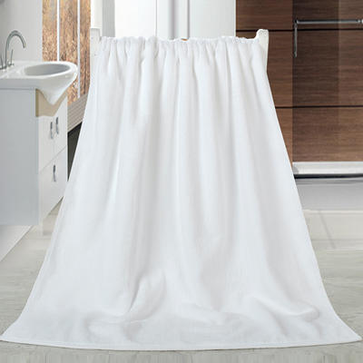 2018新款32股浴巾 白色70*140cm/500克