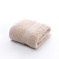 2018新款长绒棉纯棉吸水高档方巾毛巾浴巾套巾 浅咖方巾(35*35cm)
