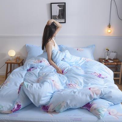 2019新款芦荟棉单被套 150x200cm 爱情海