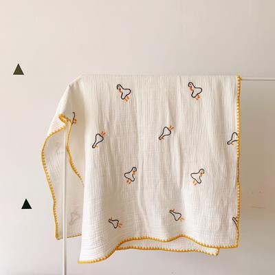 2019新款六层纱毯子 85*140cm 小鸭子