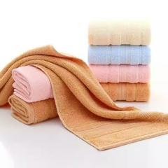 2018新款红嘴鸟长绒棉浴巾面巾套巾 粉色浴巾(75*160cm)
