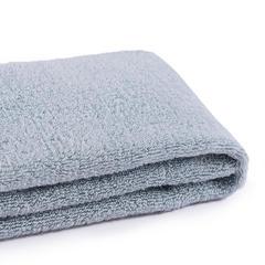 永亮厂家定制LOGO酒店礼品白毛巾家用运动洗脸抗菌除螨长绒棉面巾 蓝色