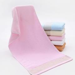 2018新款围城毛巾    34*75cm 粉色