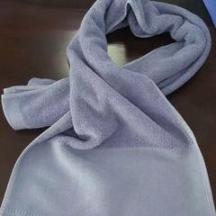 2019新款-染色运动巾可定制(32*110cm) 紫色