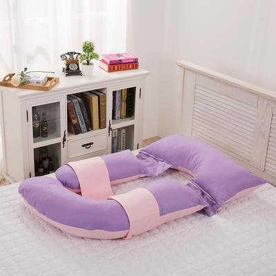 2019新款f型孕妇枕80*180cm 紫加玉F