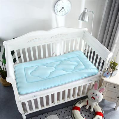 2018新款4D水晶绒儿童床垫幼儿园床垫婴儿床床垫 60*120cm 水晶绒蓝色
