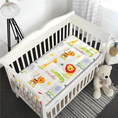 全棉幼儿园儿童床垫 60X120cm 小狮子