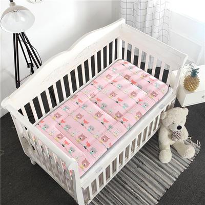 2019新款-全棉儿童床垫 70X150cm 动物乐园