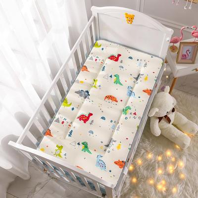 2019新款-全棉儿童床垫 70X150cm 小恐龙