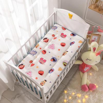 2019新款-全棉儿童床垫 70X150cm 芝麻街