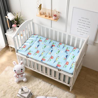 全棉幼儿园儿童床垫 60X120cm 汽车乐园